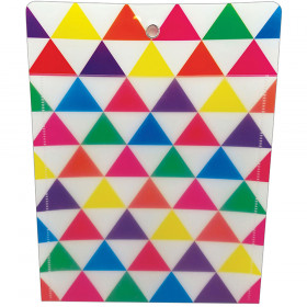 Smart Poly Folder Triangles 10X13
