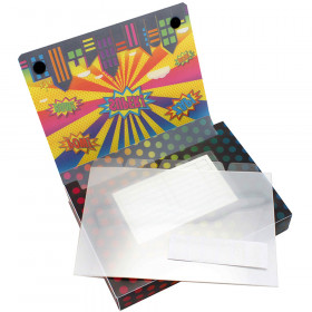 5 Pk Index Card Holder Superheroes