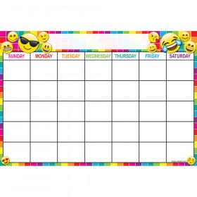 Emoji Calendar 13X19 Smart Chart Poly