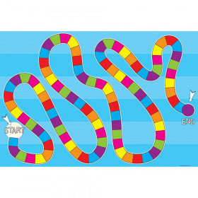 """Smart Poly Blank Game Board Blank Chart, Dry-Erase Surface, 13"""" x 19"""""""