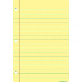 "Smart Poly Chart, 13"" x 19"", Light Yellow Notebook Paper"