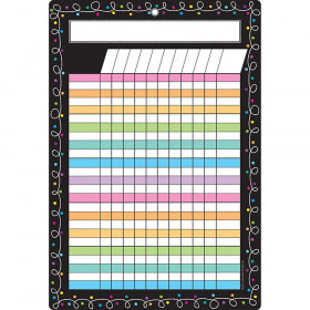 Smart Chalk Dots W/ Loops Incentive Chart Dry-Erase Surface