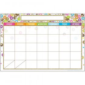 "Smart Poly Chart, DonutFetti Calendar, 13"" x 19"""
