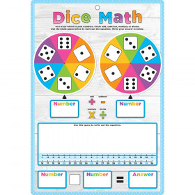 Smart Poly Smart Wheel, Dice Math