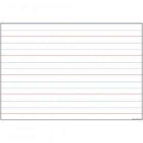 10 Pk Smart Poly Handwriting Charts Dry-Erase Surface