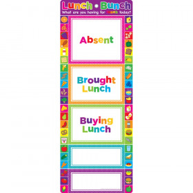 Smart Poly Clip Chart, Lunch Bunch