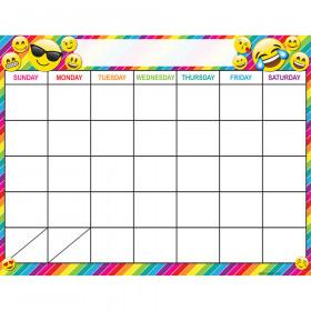 Calendar Emoji 17X22 Chart Smart Poly