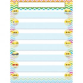 Pocket Chart 7 Pockets Emojis