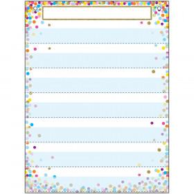 Pocket Chart 7 Pockets Confetti