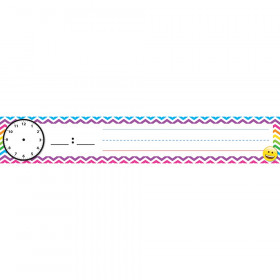 "Pocket Chart Inserts, Scheduling/Sentence Strip Cards, 2"" x 12"", Emoji, Pack of 12"
