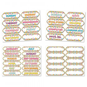 4 Pk Confetti Magnetic Timesavers