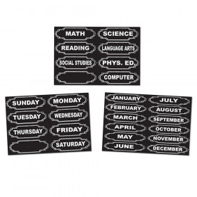 Chalk Look Magnetic Headers Timesavers Combo Pack