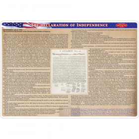 Smart Poly Double-Sided Learning Mat, Declaration of Independence