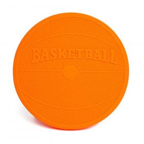Wiggle Seat Sensory Cushion, Orange Basketball