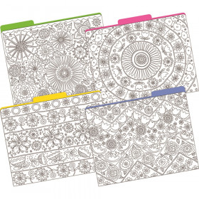 Color Me! In My Garden File Folders, Letter-Size, Pack of 12