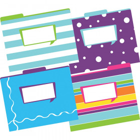 File Folders, Letter-Size, Happy, Pack of 12