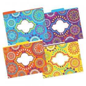 File Folders, Letter-Size, Moroccan, Pack of 12