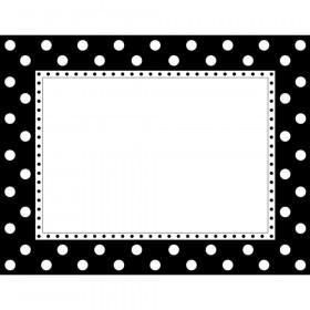 Black & White Dot Chart