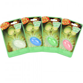 Glow-in-the-Dark Silly Putty, Assorted Colors