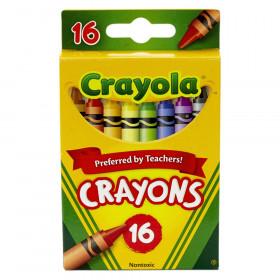 Crayola Crayons, Reg Size, 16 colors