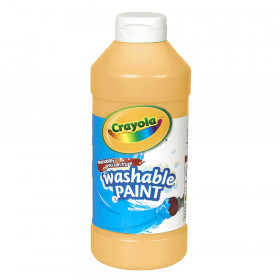 Washable Paint, Peach, 16 oz.