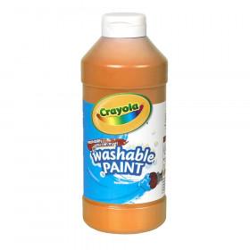 Crayola Washable Paint 16Oz Orange