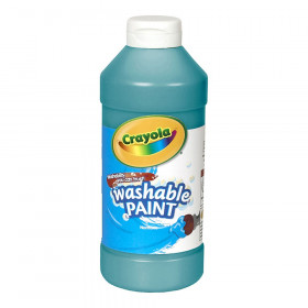 Washable Paint, Turquoise, 16 oz.