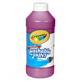 Crayola Washable Paint, Magenta, 16 oz.