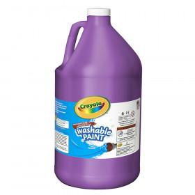 Washable Paint, Violet, Gallon