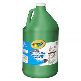 Washable Paint, Green, Gallon
