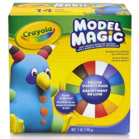 Model Magic Variety Pack, 9 Colors, 0.5-oz., 14 ct.