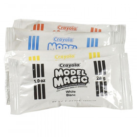 Model Magic Modeling Material Primary Colors Classpack, Assorted Colors, 1 oz, Pack of 75