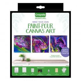 Signature, Paint Pour Canvases