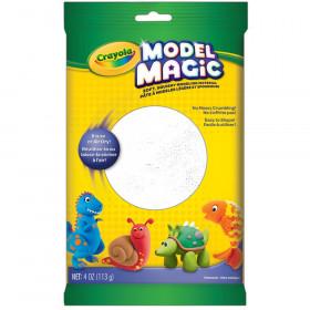 Model Magic Modeling Compound, White, 4 oz. Pouch