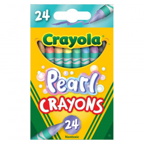 Pearl Crayons, 24 Colors