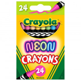 Neon Crayons, 24 Colors