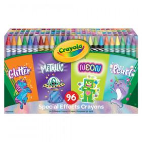 Specialty Crayons, 96 Count