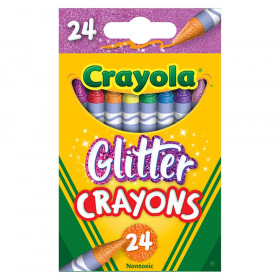 Glittler Crayons, 24 Colors