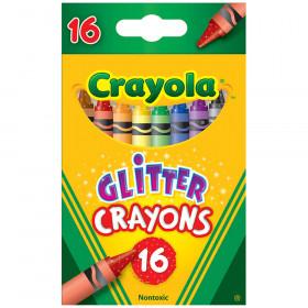 Crayola Glitter Crayons 16 Crayons