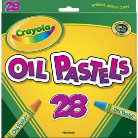 Oil Pastels, 28 colors