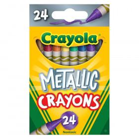 Metallic Crayons, 24 Colors