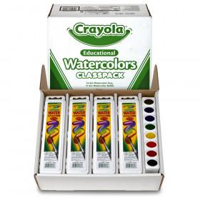 Watercolors Classpack, 36 Count