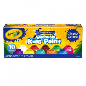 Washable Kid's Paint 10 ct