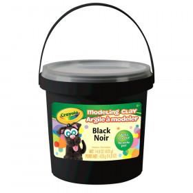 1 Lb Bucket Modeling Clay Black
