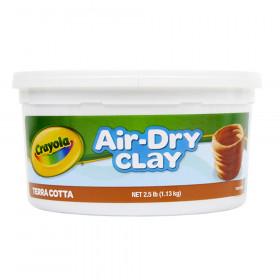 Crayola Air-Dry Clay, 2 1/2 lbs., Terra Cotta
