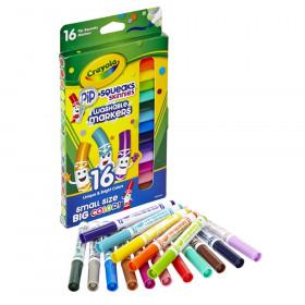 Crayola Pip-Squeaks Skinnies Markers, Fine Tip, 16 colors