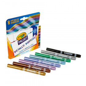 Project Metallic Markers, 8 Count