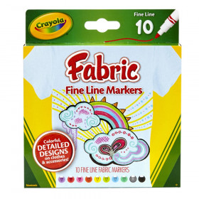 Fabric Markers, Fine Line, 10 Count