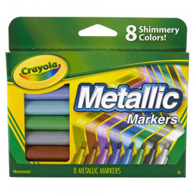 Metallic Markers, 8 Count