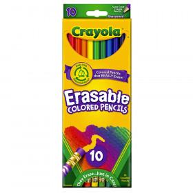 Erasable Colored Pencils, 10 Count